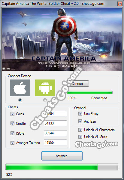 Capitain-America-The-Winter-Soldier-Cheat-Working