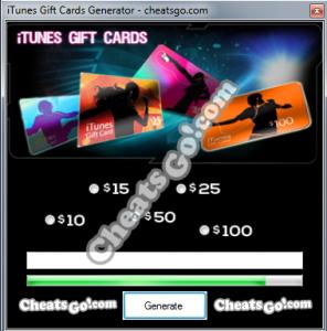 iTunes-Gift-Cards-Generator