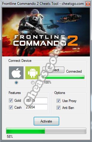 Frontline-Commando-2-Cheats-Tool