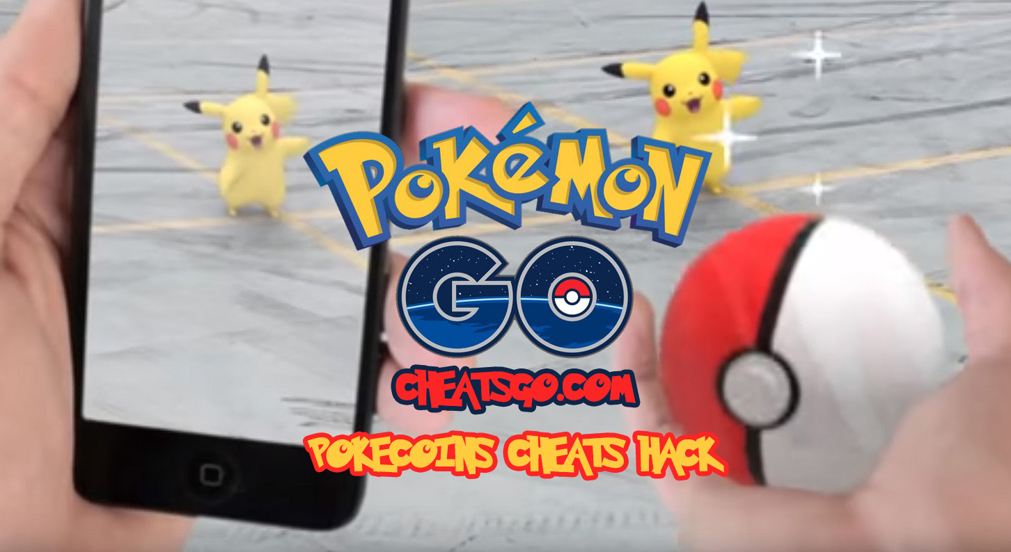 Pokémon GO Pokecoins Cheats Hack Tool - CheatsGo!